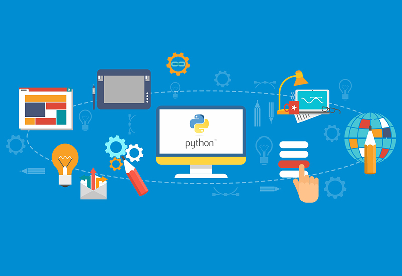 python used for