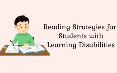 Reading strategies for Students with Learning Disabilities