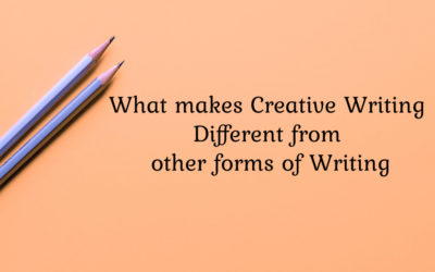 What makes Creative Writing different from other forms of writing?